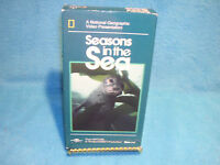 National Geographic Seasons in the Sea, VHS From Nature 1990