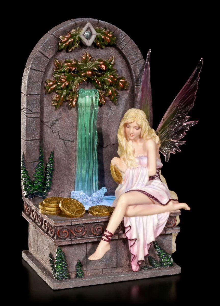Figura Elfos LED LED LED - Fairy Wishing Well - Selina Fenech - FANTASÍA HADAS b66dd5