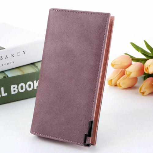 New Long Women Wallet Purse Card and Cash Holder Organizer Small Zipper Wallet