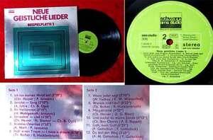 LP-Neue-geistliche-Lieder-Beispielplatte-2-Schwann-306-D-1970-Inge-Brandenburg