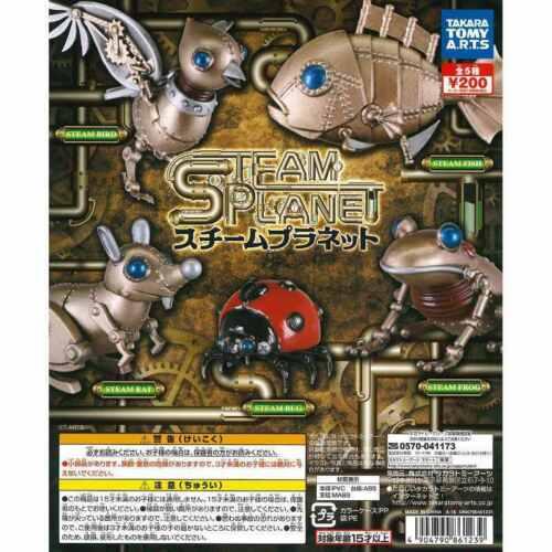 Tomy UK DISPATCH Steampunk Animal Figures Steam Planet Gashapon Gacha Toys
