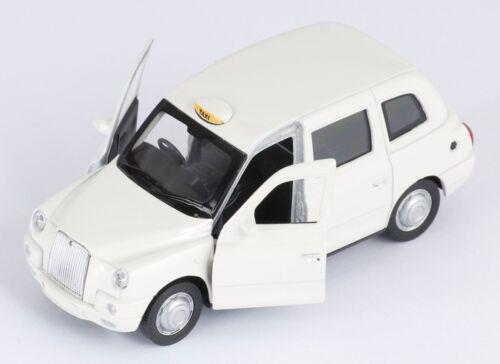 Blitz envío the London taxi tx4 crema Welly modelo auto 1:34 nuevo embalaje original /&