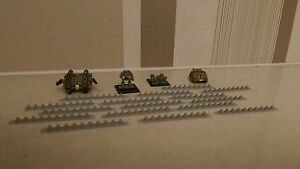 SCENERY-16-6mm-scale-tank-traps-Ideal-for-Epic-Dystopian-Wars-any-6mm-game