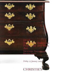 Christie S Imp American Furniture Folk Art Auction Catalog 2009 Ebay