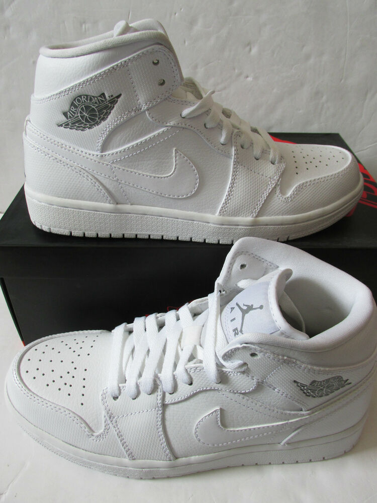Nike Air Jordan 1 Mi Baskets Montés pour Hommes 554724 120 Baskets Chaussures de sport pour hommes et femmes