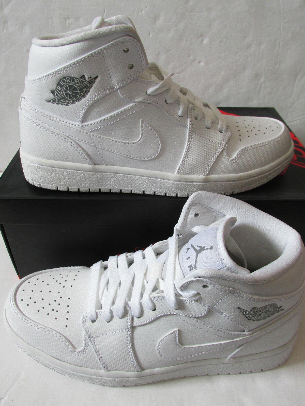 Nike Air Jordan 1 Mid Hombre Hi zapatillas Top Trainers 554724 120 zapatillas Hi zapatos cómodos y guapos a71e55