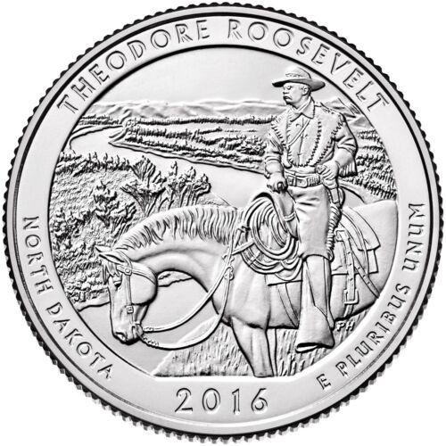 2016 THEODORE ROOSEVELT NATIONAL PARK NORTH DAKOTA P/&D SET ****IN STOCK****