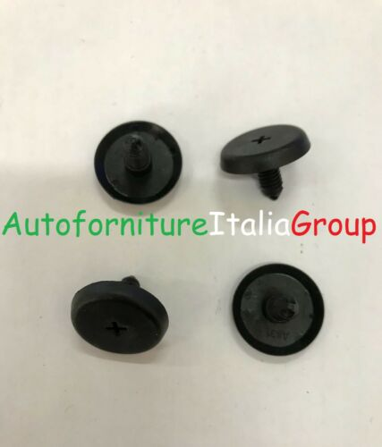 Screw Caps Cover Hole Roof Fiat Panda 03/>12 2003/>2012 4 Buttons