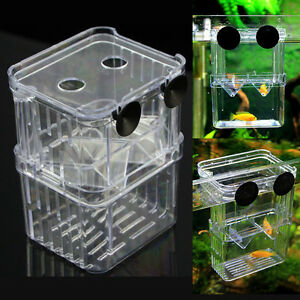 Aquarium fish tank breeding divider tank feeding breeding for Fish tank divider