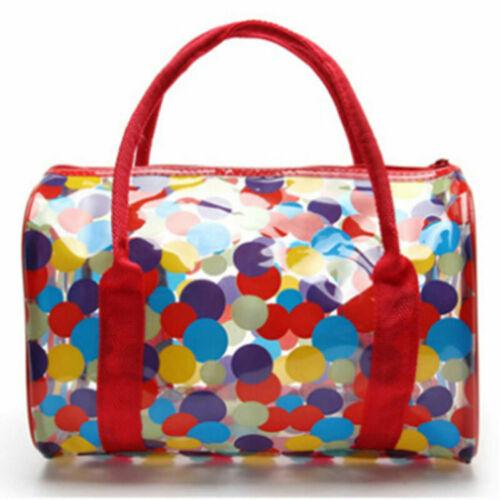 Women Transparent Handbag Shoulder Bag Clear Jelly Purse Clutch Pvc Tote Bag New