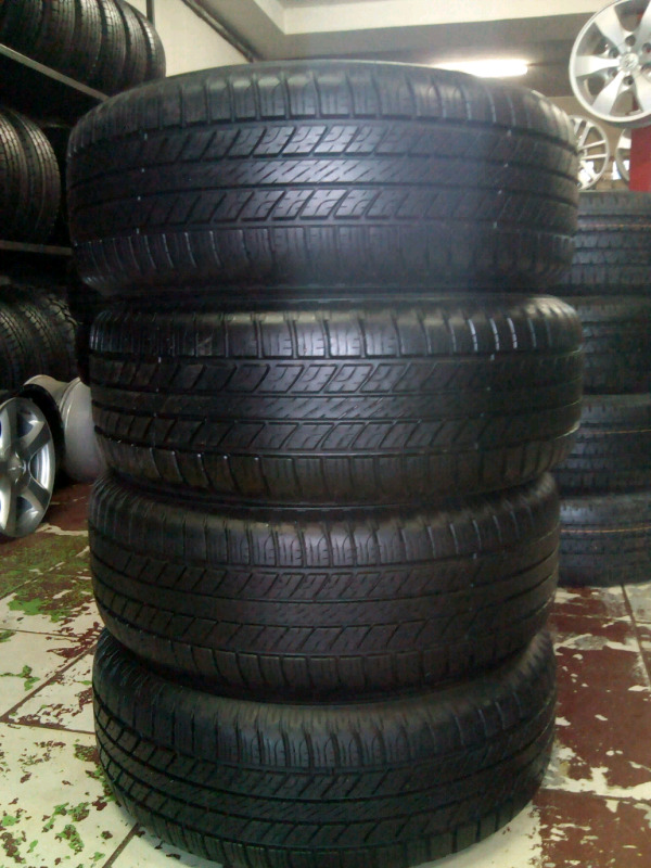 GOODYEAR TYRES 265 65R17 HP NEW X4 ON SALE.