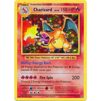 Pokemon Card XY Evolutions Charizard 11/108 Holo Rare MINT