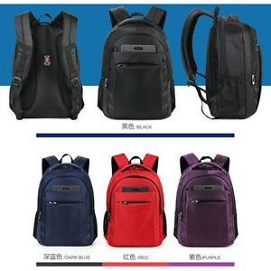 Waterproof Men Women bag Laptop Backpack Computer Notebook School Travel Bag