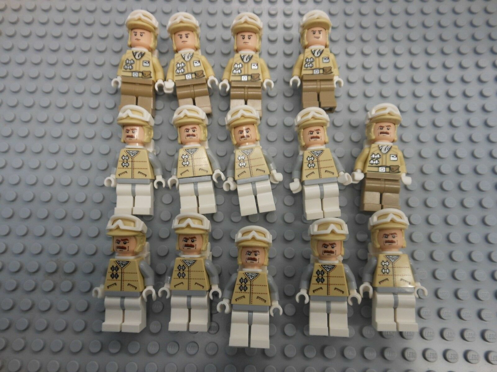 LEGO - Star Wars Hoth Minifigure Mixed Lot of 14