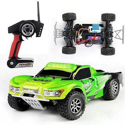 1/18 4WD 2.4G High Speed Radio Remote control RC RTR Truck Car Off Road 50km/h G