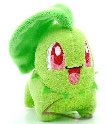 "4""  New Cute Pokemon Chikorita Plush Toy Doll PC656"