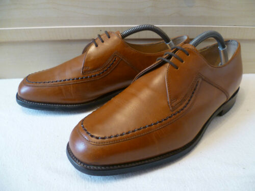 scuro Derby Vtg Full 8 Up largo Fontwell marrone Leather 42 Shoemaker Lace Uk Loake TTaq1z
