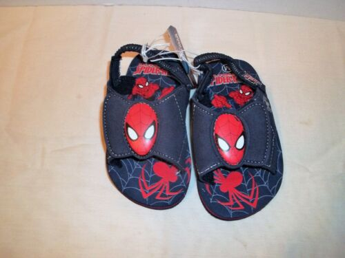 Spiderman Toddler Navy Blue Sandals w//Back Straps-5//6