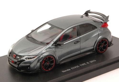 Honda Civic Type R 2015 Polished Metal Metallic 1:43 Model 45356 EBBRO