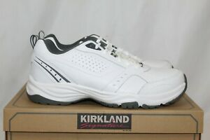 NEW-With-Tag-Kirkland-Signature-Athletic-Tennis-Shoes-Sneakers-White-Size-11