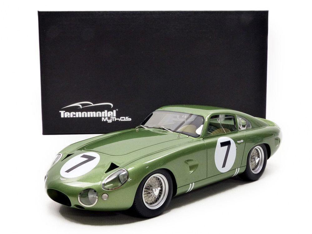 Aston Martin DP214  7 Kimberley-Schlesser  Le Mans  1963 (Tecno 1 18   TM1872A)