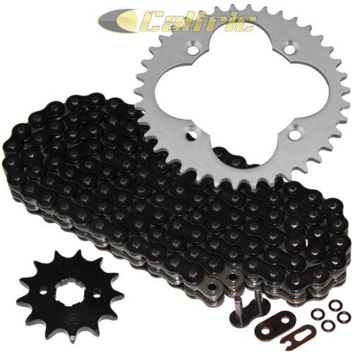 Black O-Ring Drive Chain /& Sprockets Kit Fits HONDA TRX250R TRX250X 1987-1992