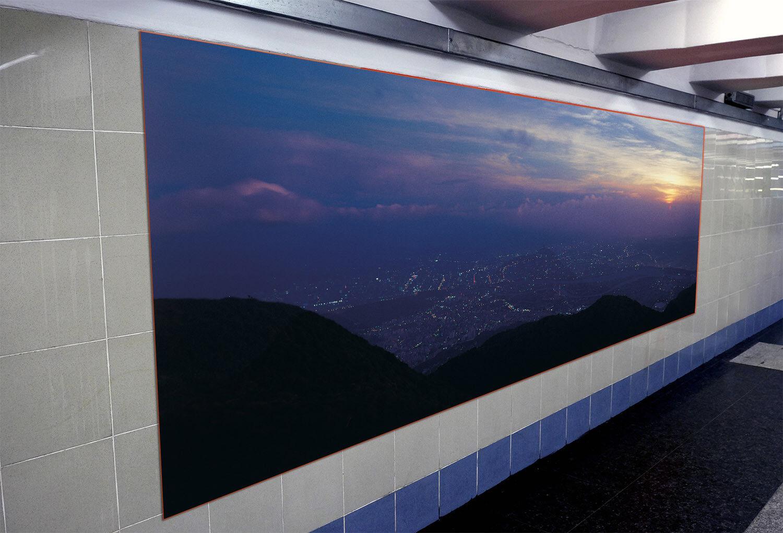 3D Hills Sky Sun 6 Wallpaper Murals Wall Print Wallpaper Mural AJ WALL AU Summer