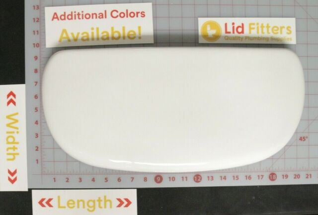American Standard 4392 Toilet Tank Lid In The Color White