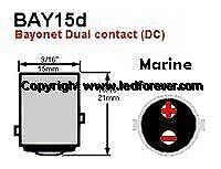 12 V LED Lanternepære vandtætte farve rød eller...