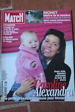paris match 2657 du 27 avril 2000 caroline de monaco monet julia roberts tauziat