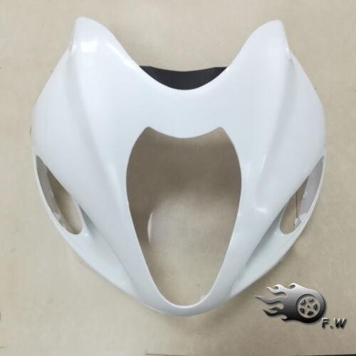 Unpainted White Upper Front Nose Fairing For Suzuki Hayabusa 1997-2007 GSX1300R