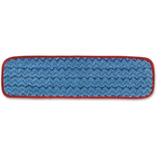 """Rubbermaid Microfiber Wet Pad .5/""""x1.67/""""x.36/"""" 12//CT Blue Q410BL"""