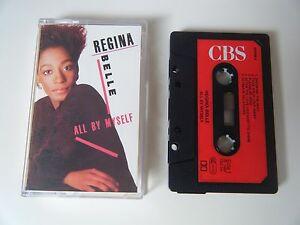 REGINA-BELLE-ALL-BY-MYSELF-CASSETTE-TAPE-1987-RED-PAPER-LABEL-CBS-UK