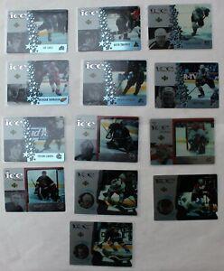 1997-98-Upper-Deck-McDonalds-Ice-Acetate-Hockey-Cards-Price-is-PER-card