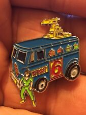 Teenage Mutant Ninja Turtles Channel Six News Van enamel pin