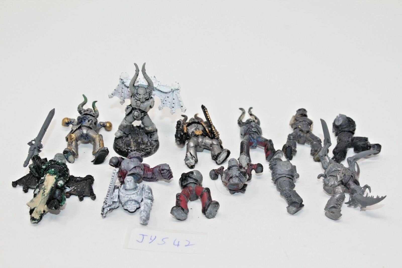 Warhammer Chaos Space Marines Tatical Squad Lot Incomplete - JYS42