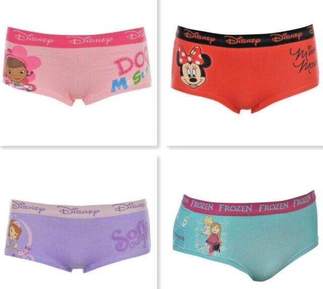 BNIP undies Disney Frozen knickers 6 pack girls Briefs underwear panties cotton
