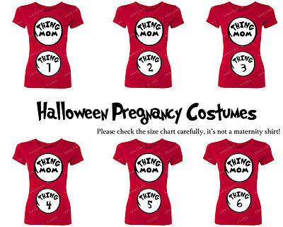 ALL Styles Women Thing Mom Pregnancy Funny T-Shirt Dr.Seuss Cat Bday Halloween
