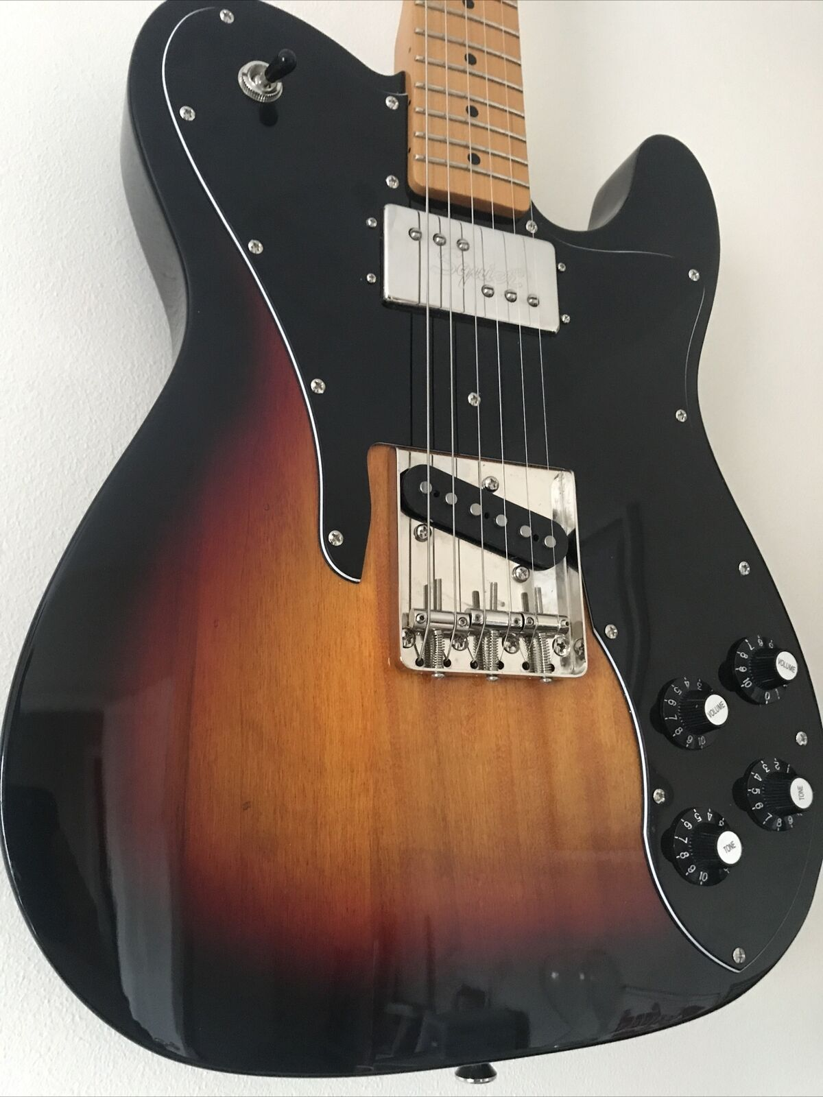 This Squier Telecaster electric guitar is for sale - Squier Clasic Vibe 70s Telecaster Custom