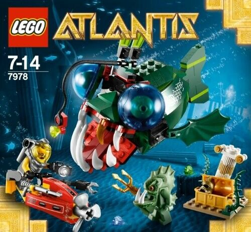Lego Atlantis, Flere sæt