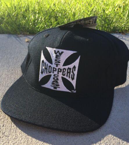 Vtg West Coast Choppers Motorcycle Jesse James SnapBack Hat Deadstock NOS NEW