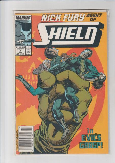 Nick Fury, Agent of SHIELD #3 (1990, Marvel)  NM-