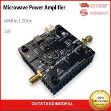 Microwave Rf Power Amplifier Board Sbb5089shf0589 40mhz 12ghz 2w Gain 25db