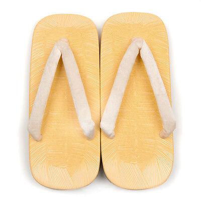 Japanese Setta Traditional Sponge Sandal White Sand for KIMONO YUKATA