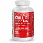 Bronson Antarctic Krill Oil - 120 Softgel
