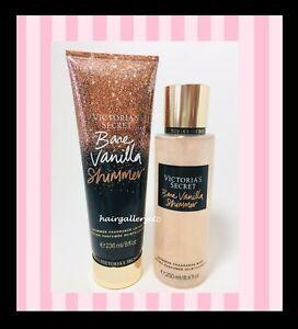 38cfcec22e NEW! Victoria s Secret Bare Vanilla SHIMMER Body Fragrance MIST or ...