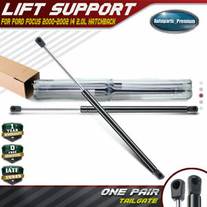 A-Premium Rear Tailgate Lift Supports Shock Struts Compatible with Ford Focus 2005-2011 With Spoiler Set of 2