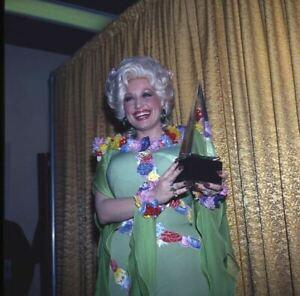 Dolly Parton Vintage Original 2.25 x 2.25 Photo Transparence Tenant Prix