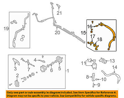 Infiniti NISSAN OEM 00-02 G20-Power Steering Suction Hose 497177J400