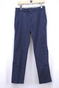 mens-navy-blue-BRAX-FEEL-GOOD-pants-evans-chino-casual-dress-regular-fit-32-x-32